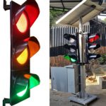 portable traffic light – lampu lalulintas portable